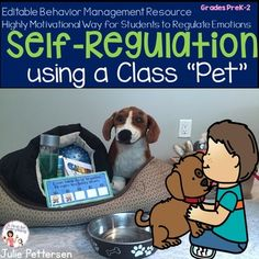 Are even your best classroom management strategies no longer working because the social/emotional needs of students is so significant it is robbing you of effectively running your classroom? How to teach students how to self-regulate their own behavior. Head Start Classroom, Classroom Pets, 3rd Grade Classroom, Classroom Environment, Preschool Classroom, Future Classroom, Preschool Activities, Emotion Words, Feelings Words