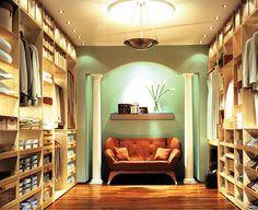 Luxury Walkin Closet by cdeal101, via Flickr