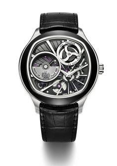 Vers une nouvelle horlogerie - Piaget montre-concept Emperador coussin XL 700 P - lesoir.be