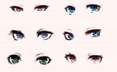 Marvelous Learn To Draw Manga Ideas. Exquisite Learn To Draw Manga Ideas. How To Draw Anime Eyes, Manga Eyes, How To Draw Hair, Manga Drawing, Drawing Sketches, Drawing Tips, Wie Zeichnet Man Manga, Chibi Eyes, Manga Tutorial