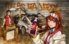 Back to the future X Steins;Gate