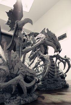zergling and Hydralisk   War coming by yanchuan111.deviantart.com on @deviantART