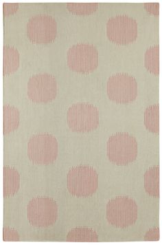 NY Dot Rug in Peony | By Genevieve Gorder for Capel Rugs, America's Rug Company
