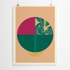 Tropical Geometric Print Geometric Art, Prints For Sale, Framed Artwork, Giclee Print, Tropical, Fine Art, Canvas, Paper, Bedroom