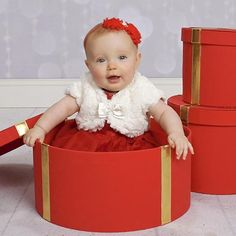 Are you planning your little one's first Christmas? Don't forget the holiday photo! | JCPenney Portraits