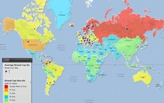 17 maps of the world that you will never be shown at school! Which ones are the most unbelievable?