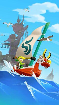 The Legend Of Zelda Mobile Wallpaper Mobiles Wall Mobile Wallpaper, Iphone Wallpaper, Interactive Art, Wind Waker, Geek Art, Live Wallpapers, Legend Of Zelda, Best Games, Videogames