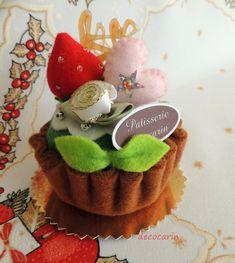 Felt Cake, Felt Food, Felt Home Table Kitchen Decor Decoration Ornament, Felt Decor, Birthday Gift