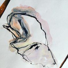 Something old #figuredrawing #sketch #sketchbook #illustration #fashionsketch #fashionillustrator #art #artwork #artoftheday #illustragram #instaart #instaartist #inspiring #watercolor #ink #instagood #instadaily #picoftheday