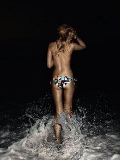 summer, beach, night, fun