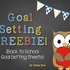 Product Description: This free pack is perfect for Back to School season!  Help students set and meet their goals, and encourage them to take owner...