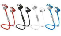 image for POM Gear Pro2Go ONE Wireless Bluetooth 4.1 Noise-Canceling Earbuds