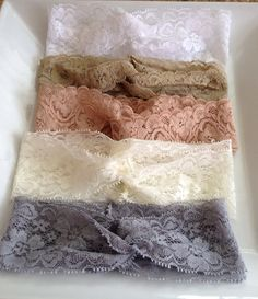 Pick Any 2 Baby Turban Headband Lace Turban by MiShaMeDesigns