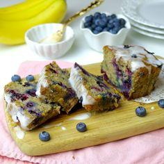 Lindsay Ann Bakes: Glazed Blueberry Banana Bread