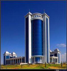 Ashgabat Trade Center, Ashgabat, Turkmenistan,