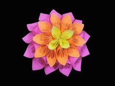 How to make Multi layered kusudama flower ( very easy ) : DIY Crafts