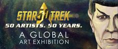 """Art Exhibition Hits NYC   """"Star Trek: 50 Artists. 50 Years"""" the global art exhibit tour will make its only New York area stop at The Paley Center for Media from September 16 to 25 2016. Commemorating Star Treks 50th anniversary and curated by CBS Consumer Products the exhibit will feature original 2-D and 3-D artwork expressed through various mediums by 50 artists from 10 countries including the late actor/photographer Leonard Nimoy and actress Mayim Bialik. The Paley Center will also…"""