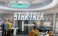 Menu principal del juego. Ya de entrada te meto el detalle visual de Star Trek en el ojo. Digo... por si no te gusta.