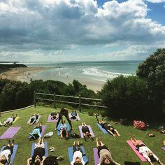 274 days until summer #whoscounting #yoga #summer #anglesea #greatoceanroad #melbournelovesyoga #yogaholidays #yogi #yogainspiration #vinyasa #powerflow #outdooryoga #shavasana #beach #sun #yogaeverydamnday by yogiilonglegs http://ift.tt/1KosRIg