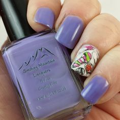 Lustrous Lacquer: Smokey Mountain Lacquers - Radiant in Orchid