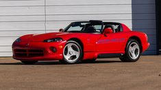 1993 Dodge Viper Pace Car Edition presented as Lot at Kissimmee, FL Pontiac Grand Am, Dodge Viper, Older Models, Aluminum Wheels, Monte Carlo, Grey Leather, Old Cars, Cars And Motorcycles, Trains
