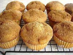 sugar-free Cinnamon Muffins. just need to use gluten-free flour