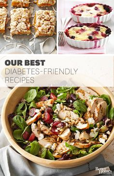 Give these nutritious and delicious dishes a shot to help keep your diabetes in check: http://www.bhg.com/recipes/healthy/diabetic/diabetic-main-course-summer-recipes/?socsrc=bhgpin101314 #maincourse #recipes #dinner #recipe #hungry
