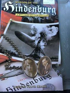 JIGSAW PUZZLE 1000 PEICE Murder On The Hindenburg PERFECT CHRISTMAS GIFT #BEPUZZLEDCLASSICS