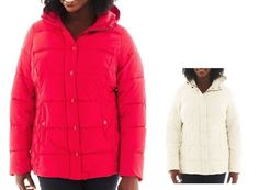 St Johns Bay Womens Plus Puffer Jacket Solid Polyester size 1X 2X NEW  39.99 http://www.ebay.com/itm/St-Johns-Bay-Womens-Plus-Puffer-Jacket-Solid-Polyester-size-1X-2X-NEW-/232367170308?ssPageName=STRK:MESE:IT