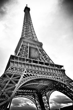 paris eiffel tower wallpaper black and white - Google Search