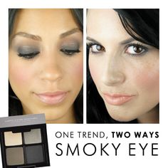 One Trend, Two Ways: Smoky Eye