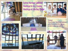 Wedding ceremony at Little Bay chapel in Little Bay with Sydney celebrant. Chapel Wedding, Wedding Ceremony, Wedding Venues, Marriage Celebrant, Sydney Wedding, Good Marriage, Indoor Wedding, Wedding Locations, Celebrity Weddings