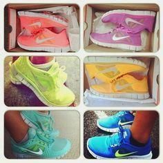 We want them in ever     We want them in every colour!  #nike   #freerun