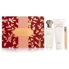 http://www.bonanza.com/listings/Estee-Lauder-PLEASURES-3-Piece-Perfume-Gift-Set-in-Box/80677041