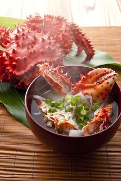 Japanese Winter Crab Soup, Photo by Noriaki Maeda - Food Photography