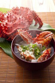 kanimiso soup 蟹味噌汁