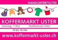 5. Koffermarkt in Uster 7. Mai 2016 - Stadthofsaal