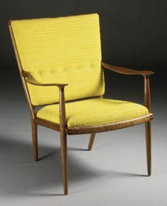 Sam Maloof (1916-2009) - Flared-back chair (1958)