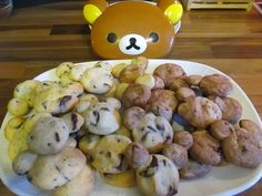 Otaku Family: Rilakkuma Chocolate Cookies