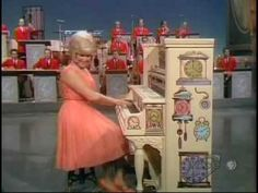 "Joann Castle on the ragtime Piano from the ""time"" episode! Fun! Fun! Fun!"