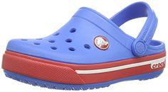 Crocs Cband2.5ClogK, Unisex-Kinder Clogs, Blau (Varsity Blue/Red 4S0), 19/21 EU - http://on-line-kaufen.de/crocs/19-21-eu-crocs-crocband-ii-5-clog-kids-unisex-kinder-2
