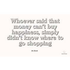 Wise words from the legendary beauty #BoDerek. What's your favorite shop?