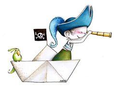 Sticker enfant - Pirate à l\'attaque ACTE DECO - Sticker   chambre ...