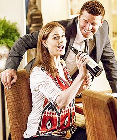 """Want to know a secret from the set? Emily Deschanel and David Boreanaz have been known to break into song — Deschanel claims they know the soundtrack to Annie in its entirety: """"We're just kind of goofy actors and silly people."""""""