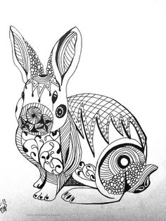 My Bunny drawing. www.facebook.com/epoynerart