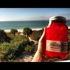 We found some sunSHINE! #moonshine #beach #ocean #saltlife