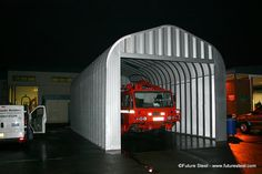 Airport Garage by Future Steel. www.futuresteel.nl