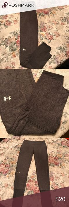Under Armour infared cold gear pants Grey infared Under Amour Pants, size Medium Under Armour Pants Straight Leg