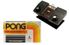 The first video game ever.  We got this in 1976 and thought it was great.