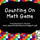 Counting-On is a great way to supplement your math program.  Not only does it build number sense, it promotes pattern recognition! Use this game as...